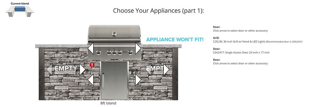 Design Tool Appliance Error Icon