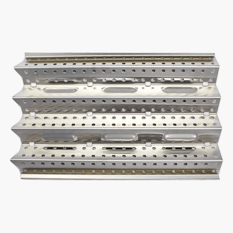 heat control grid for built in outdoor kitchen grill