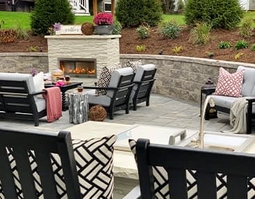 Outdoor Kitchen with Fireplace for Next Backyard Project - Featured Image