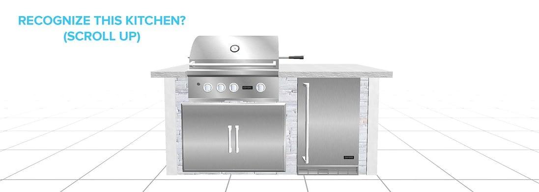 rta outdoor kitchen design