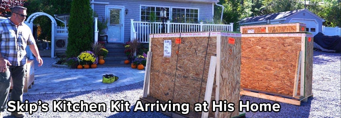 Skip Bedells Outdoor Kitchen Kit in Pallets