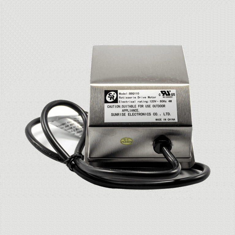 motor for outdoor grill