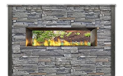Product Recommendation for 8ft See-Through Outdoor Fireplace
