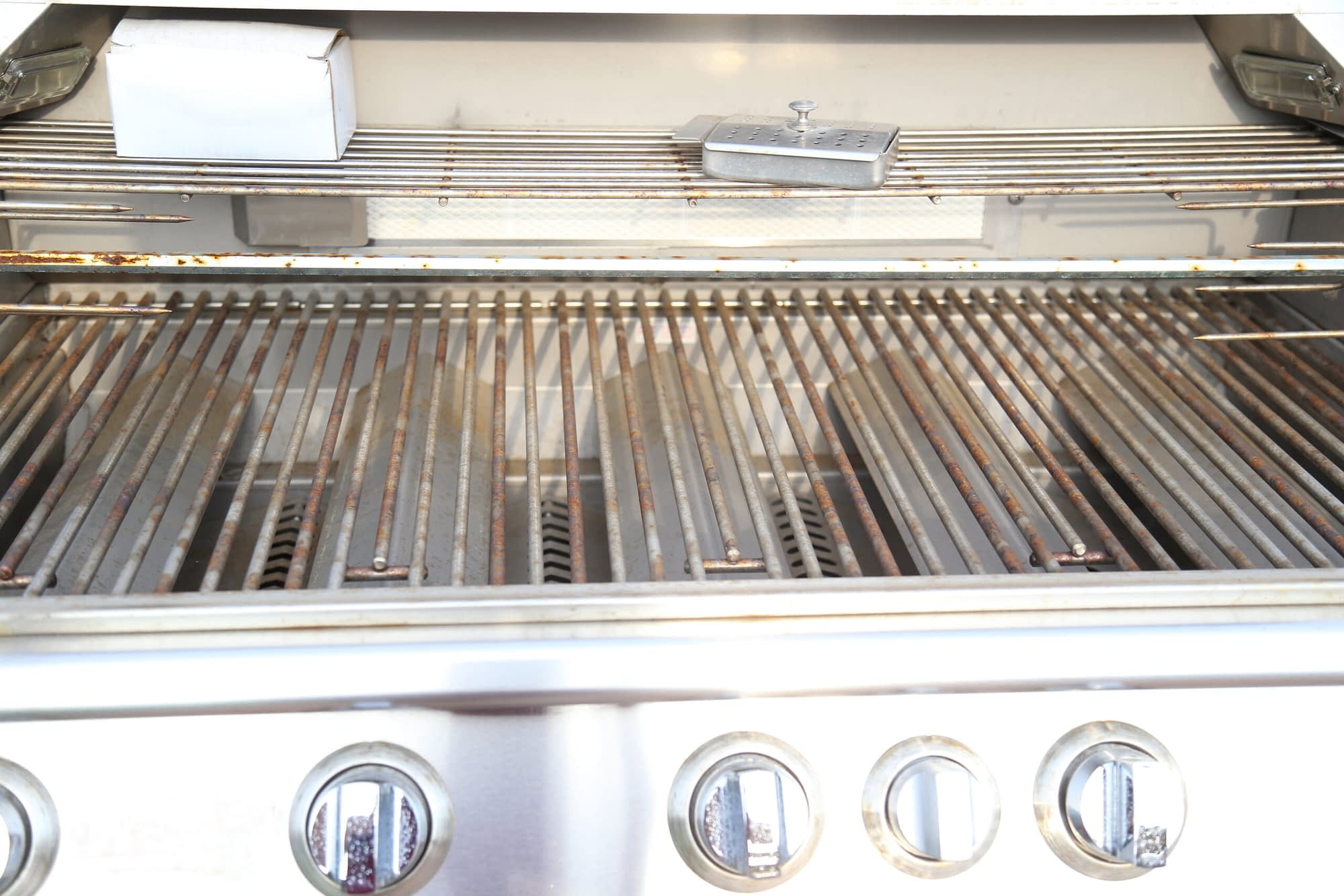 economy built in grill
