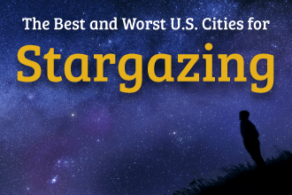The Best and Worst U.S. Cities for Stargazing - Featured Image